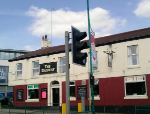 railway pub, stockport